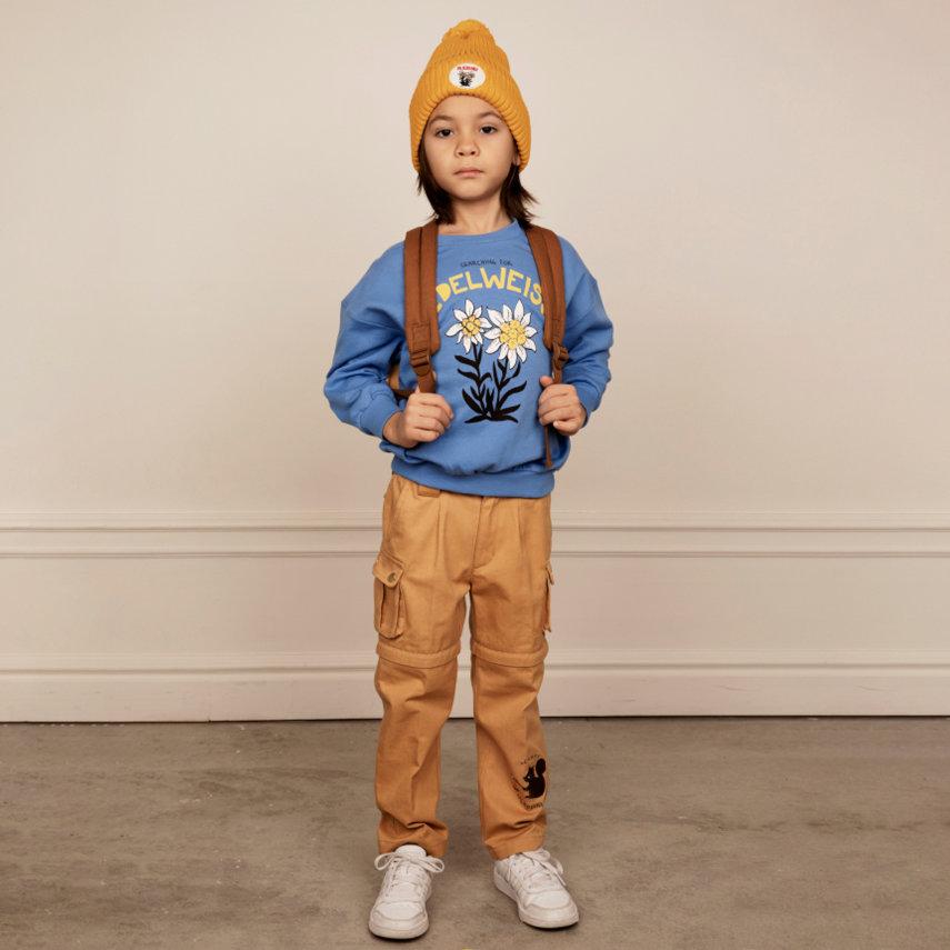 pletena kapa za djecu runolist look