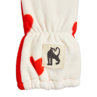 rukavice za djecu flis srca detalj
