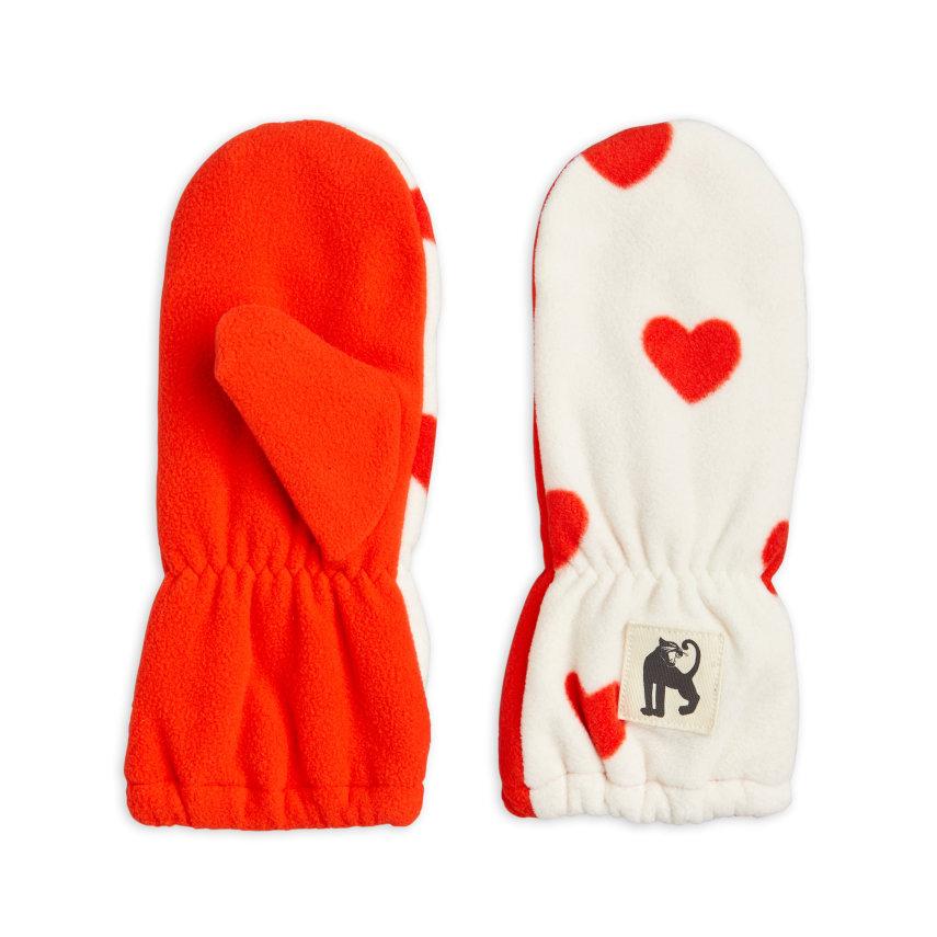 rukavice za djecu flis srca