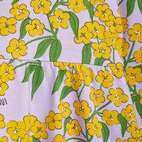 pamučna haljina alpsko cvijece detalj
