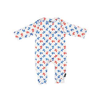 Kombinezon za bebe od organskog pamuka Balloon Doggies