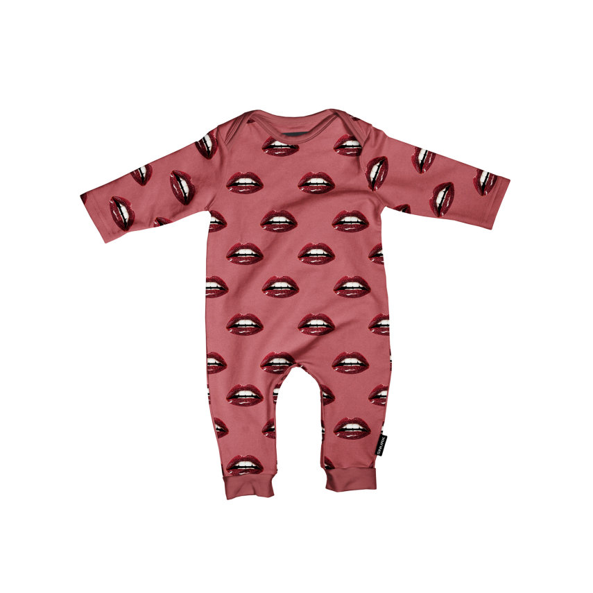 Kombinezon za bebe od organskog pamuka Kiss Kiss