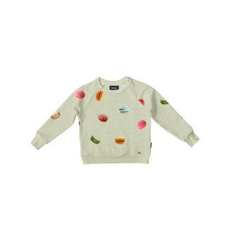 Gornji dio pidžame za djecu od organskog pamuka Macarons Green