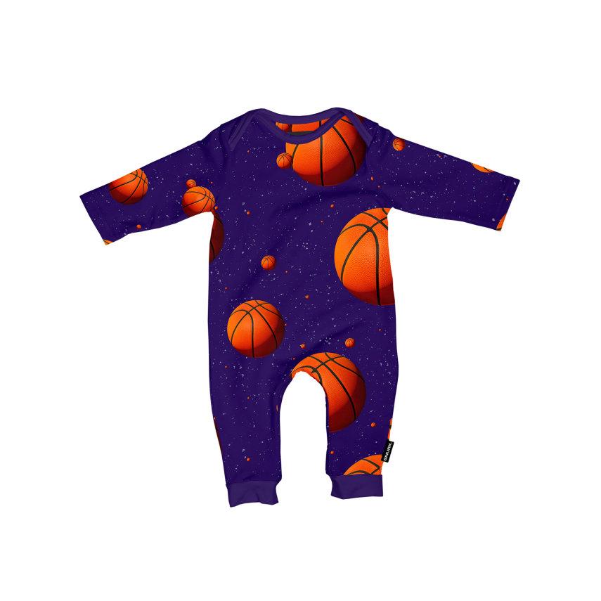 Kombinezon za bebe od organskog pamuka Basketball Stars