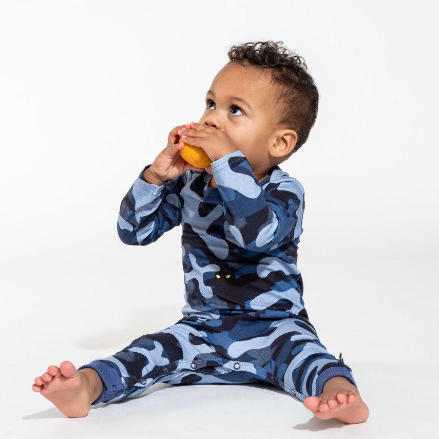 Kombinezon za bebe od organskog pamuka Paper nights