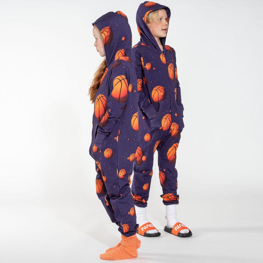 Kombinezon za djecu od organskog pamuka Basketball Stars