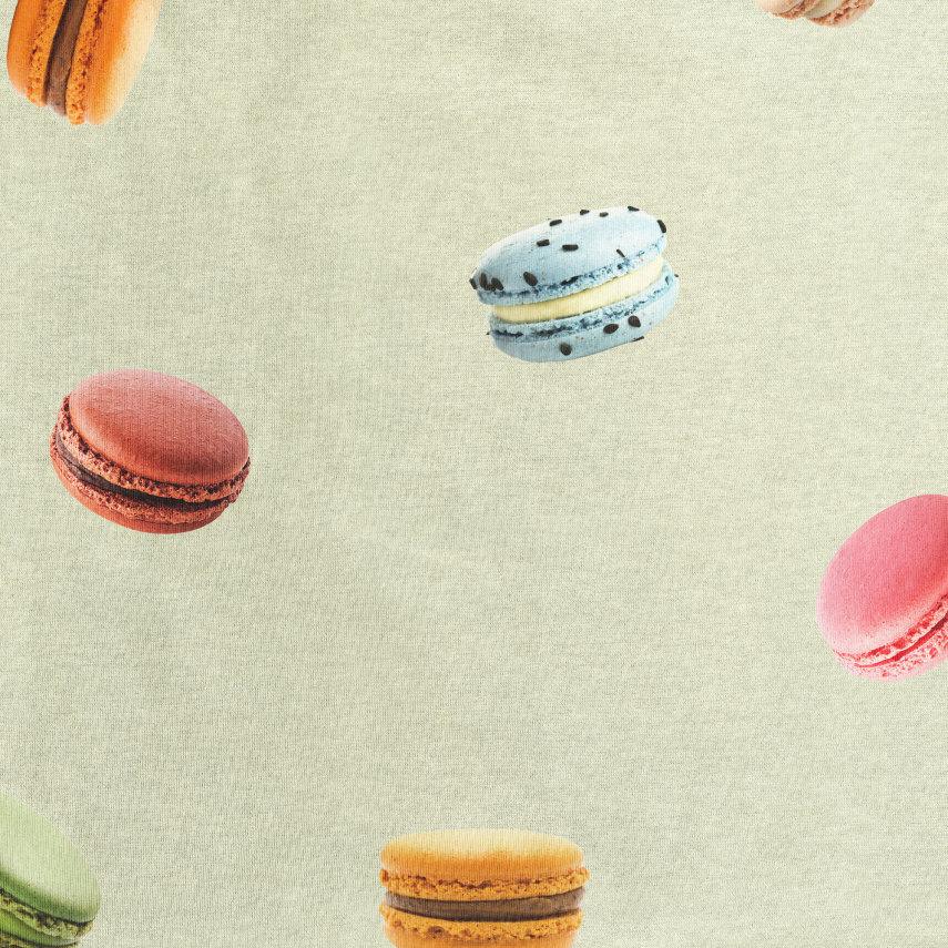 Donji dio pidžame za djecu od organskog pamuka Macarons Green