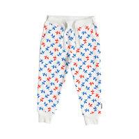 Donji dio pidžame za djecu od organskog pamuka Balloon Doggies