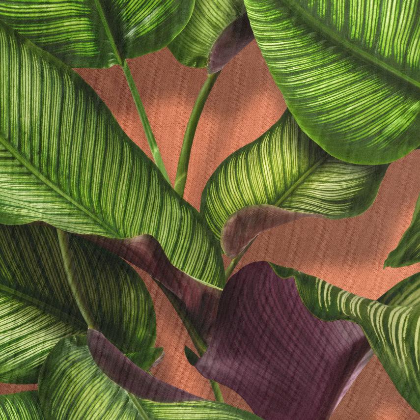 Gornji dio pidžame za djecu od organskog pamuka Fresh Leaves
