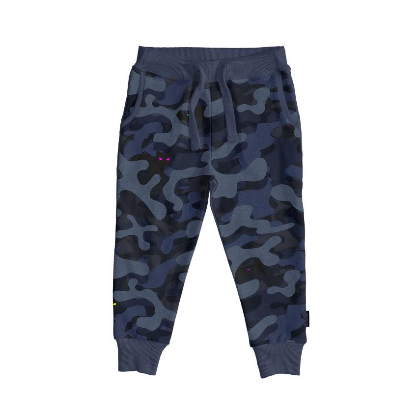 Donji dio pidžame za djecu od organskog pamuka Paper Nights