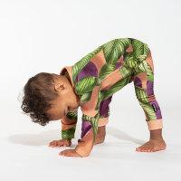 Kombinezon za bebe od organskog pamuka Fresh Leaves