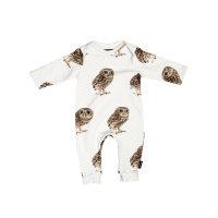 Kombinezon za bebe od organskog pamuka Night Owl
