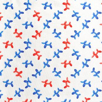 Gornji dio pidžame za djecu od organskog pamuka Balloon Doggies
