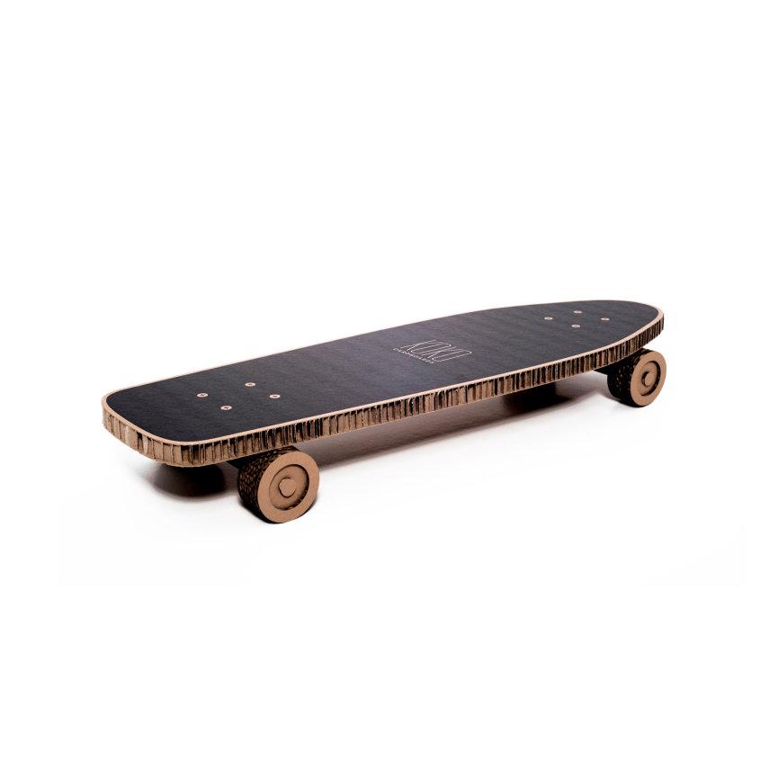 Uradi sam set za djecu polica Skateboard