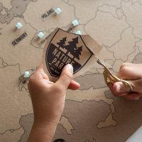 Karta Europe za djecu Uradi sam