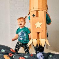 kartonski dječji kostim za prerušavanje