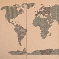 dječja karta svijeta Uradi sam set