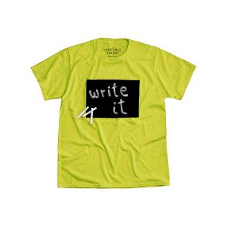 majica s printom teksture ploče za pisanje